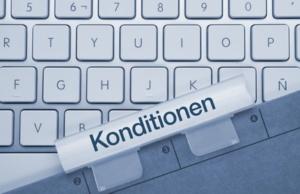 Konditionen Tastatur